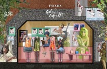 PRADA Takes Over Galeries Lafayette Skybridge