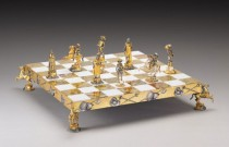 ASPIRE Pick of the Week: Historical Gold and Silver Chess Sets by Piero Benzoni