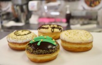 Las Vegas Glitters with Luxurious Gold-Adorned Donuts