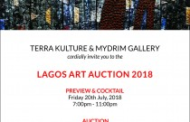 TKMG Auction House Presents the Lagos Art Auction 2018 and Announces Competition for Emerging Artists