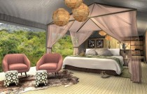 Inside The New Magashi Luxury Tented Camp in Rwanda