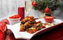 Making Delicious Chicken Wings for Christmas