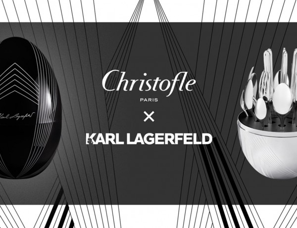 christofle and Karl Lagerfeld