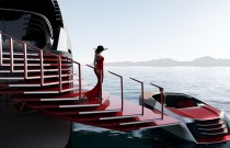 This Million-Dollar Superyacht Will Come with A Red Carpet Entrance