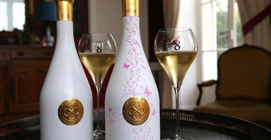 The Infinite Eight Champagne. Image Courtesy Actu.fr