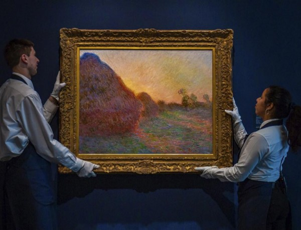 Claude Monet 'Haystack'