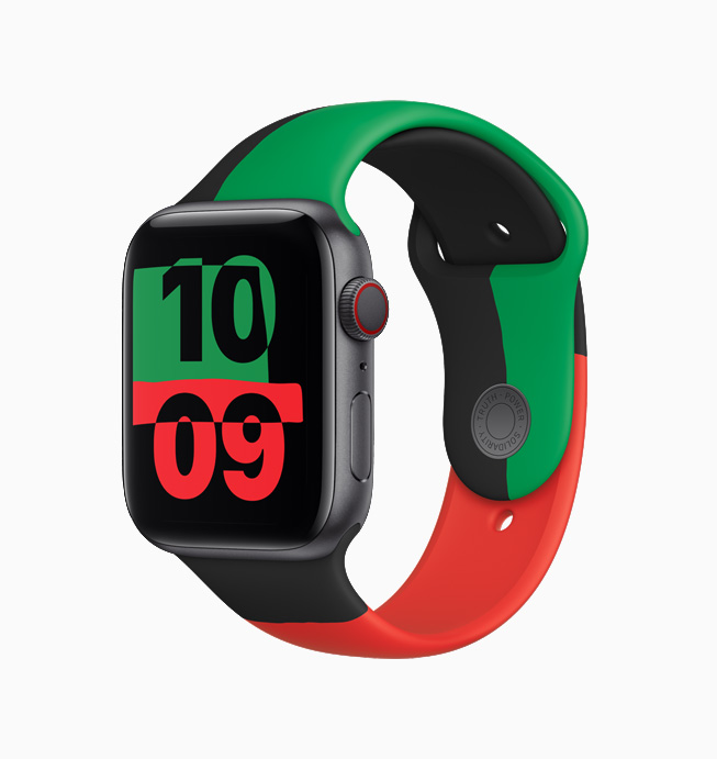 The Limited-edition Black Unity Apple Watch 6.