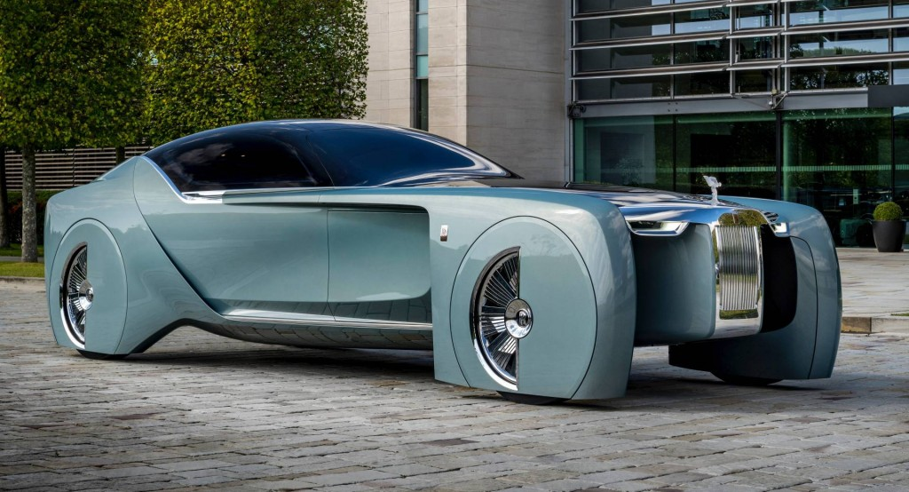 The Rolls Royce 103EX concept that informed the design of the Bieber-Bespoke Wraith