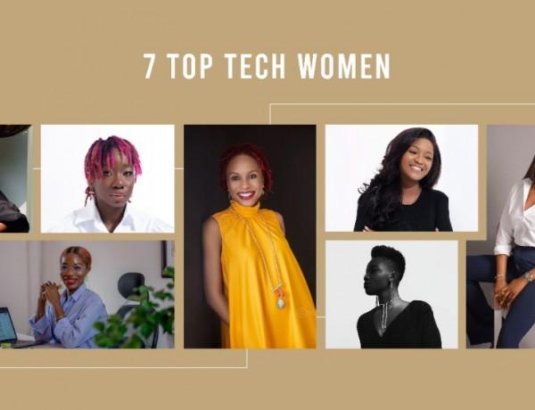 Seven women in tech