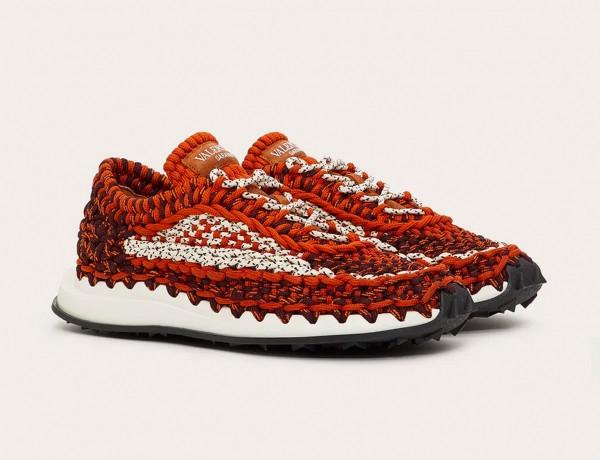 valentino-garavani-crochet-sneakers-orange