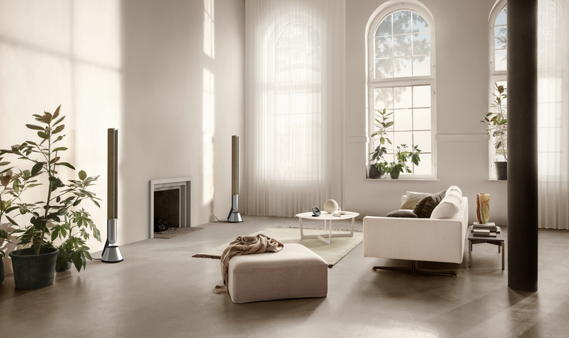The Beolab 28 speakers can be a living room and be heard anywhere