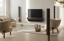The Bang&Olufsen Beolab 28 Features Curtains that Open to Sound Modes