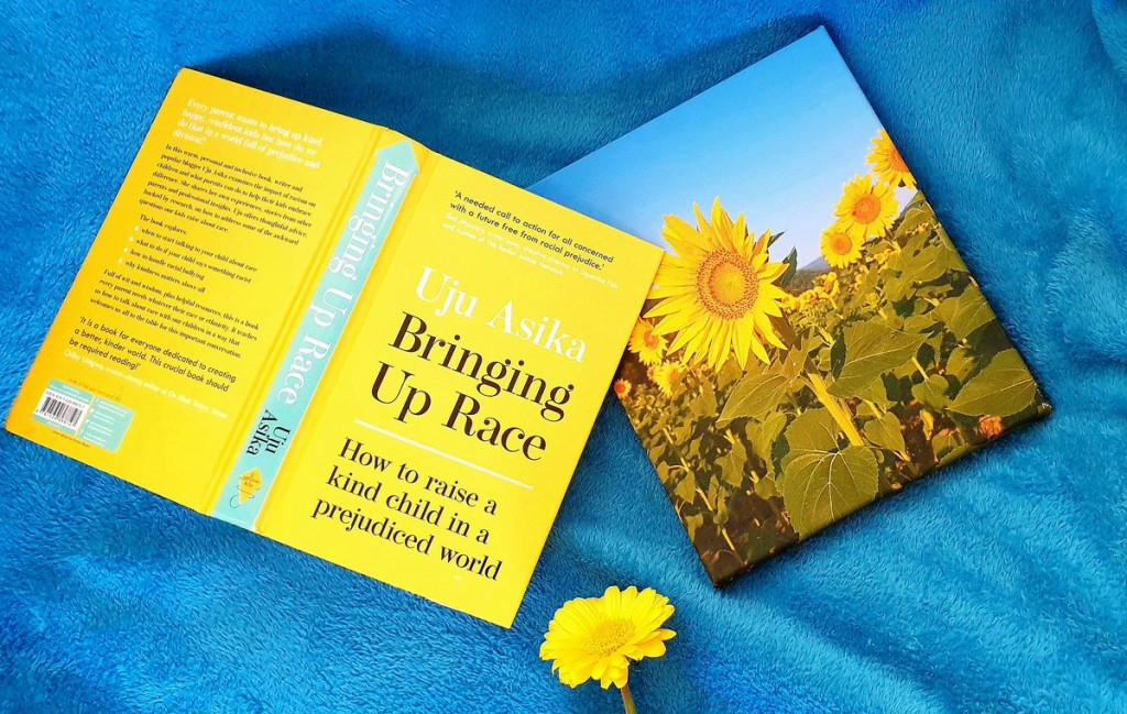 Bringing Up Race by Uju Asika is an anthology of the BAME experience, a resource and a guide on how to be less racist while you raise non-prejudiced children