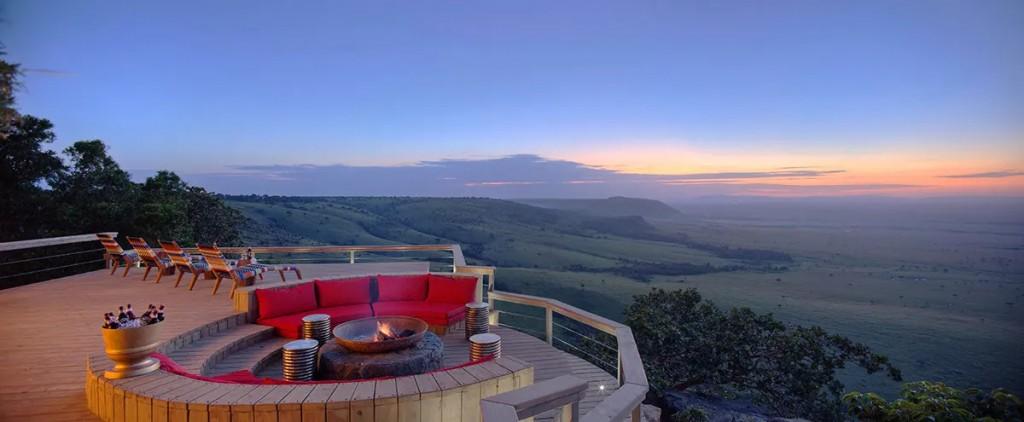 Angama Mara Guest area