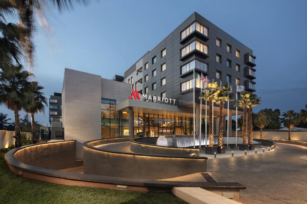 Exterior of the Lagos Marriott Hotel Ikeja