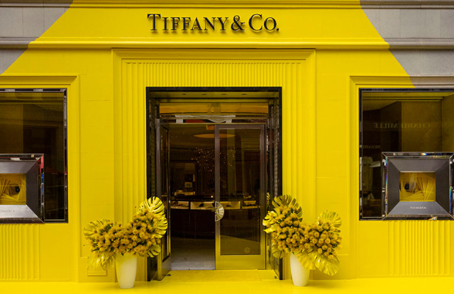 The new Tiffany Yellow pop-up store