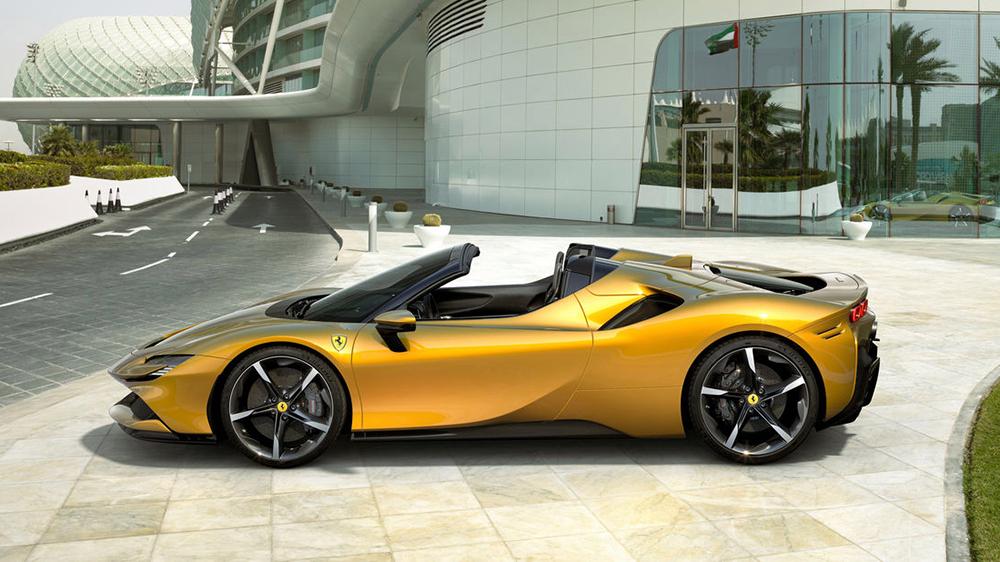 The Ferrari Stradale Spider