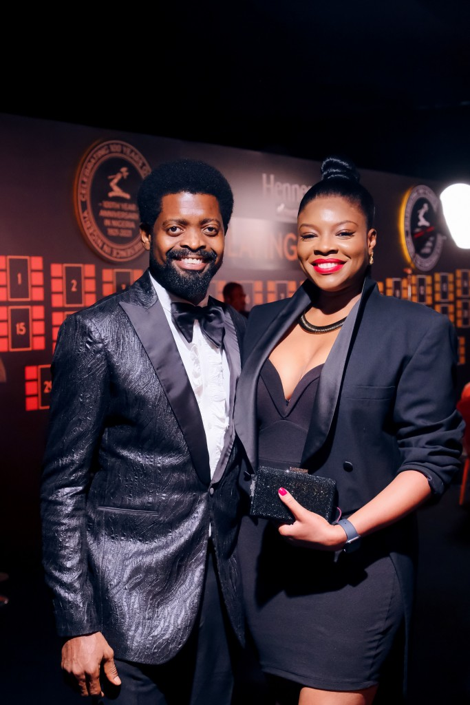 BasketMouth was the host of the Hennessy 100 years celebration in Nigeria