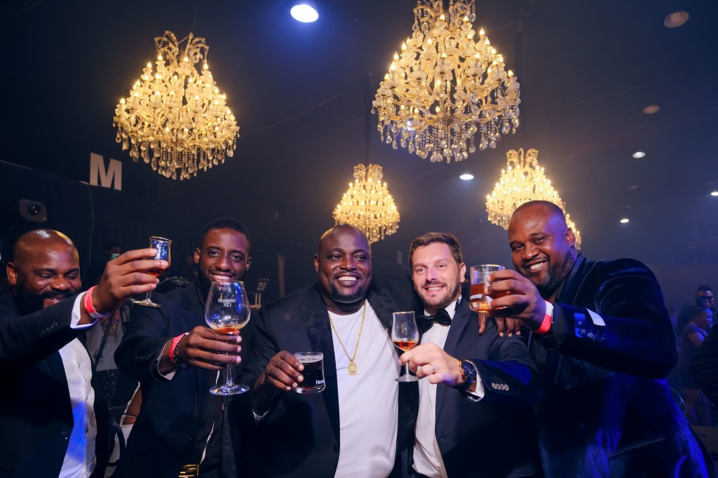 Celebrities at the 100th Hennessy anniversary