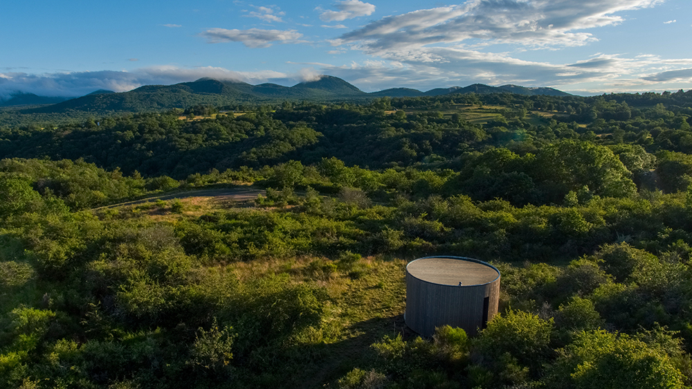 Airbinb and Volvic will allow you stay at the Chaîne des Puys volcanic field for one night