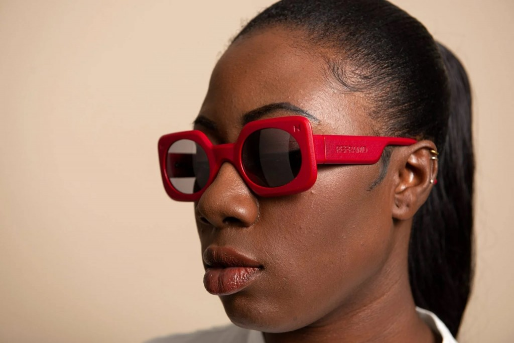 Each sunglasses is created uniquely for a person
