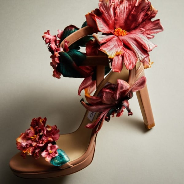 Valentina Badeanu's Blossom in your Choos.