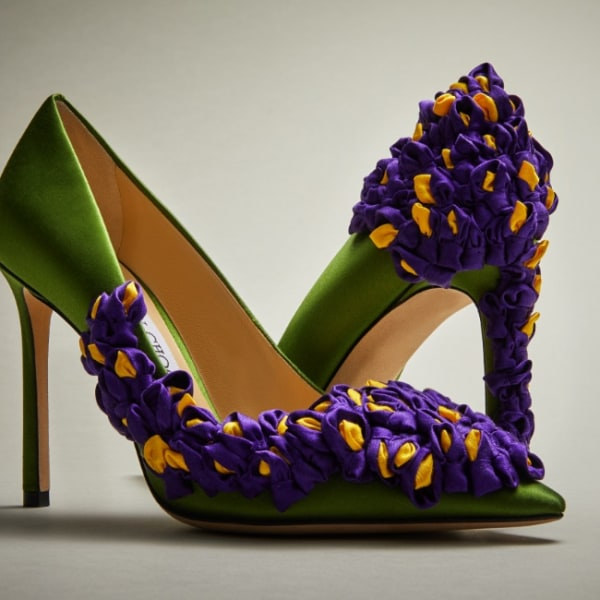 Wisteria by Nathan Scalzo for the Choo Sketch Design collection